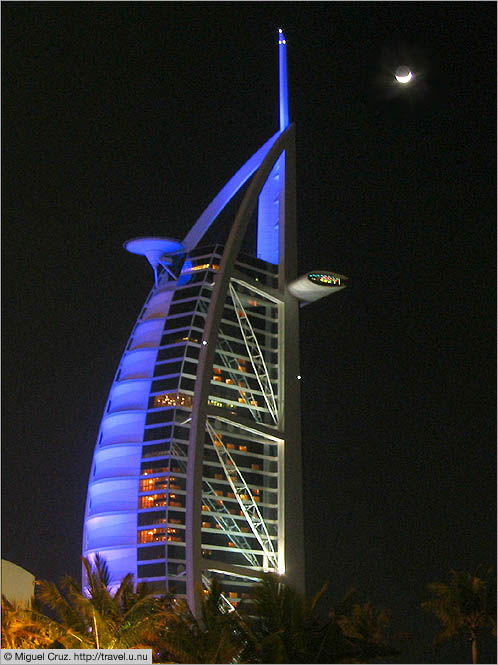 United Arab Emirates: Dubai: Burj al-Arab