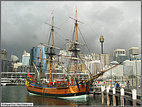 Old ship in Darling Harbour