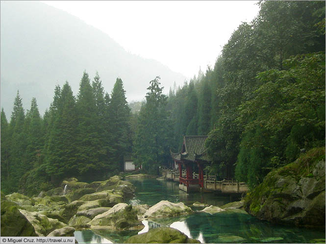 China: Sichuan Province: Mountain park