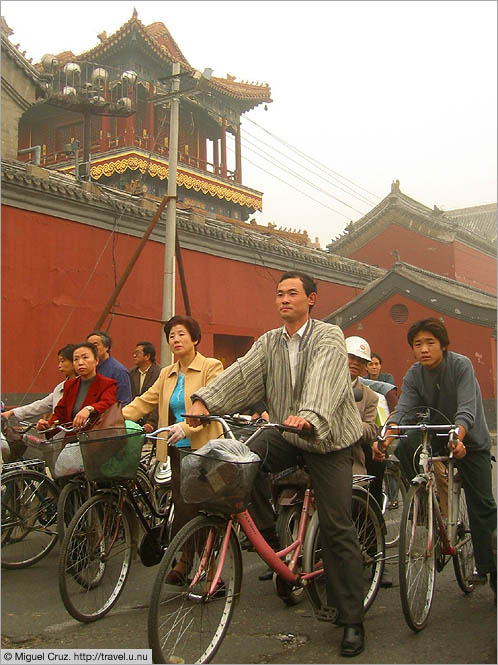 China: Beijing: And they're off!