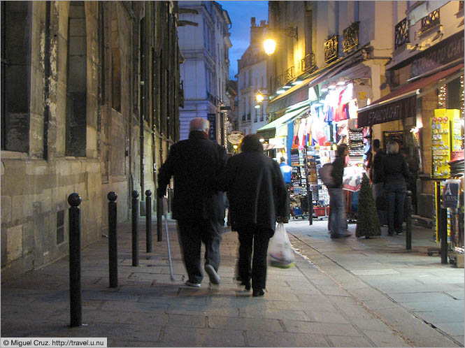France: Paris: The Latin Quarter isn't just for young people
