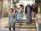 Palestinian girls on the way to school