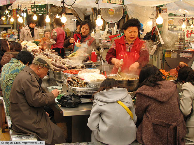South Korea: Seoul: Lunch counter