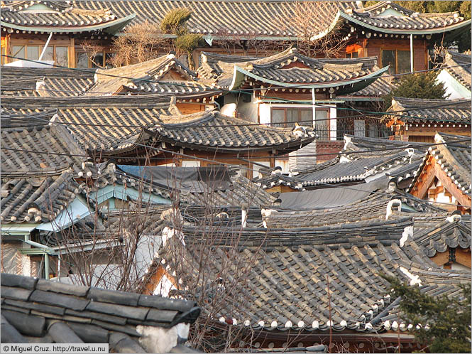 South Korea: Seoul: Hakon rooftops