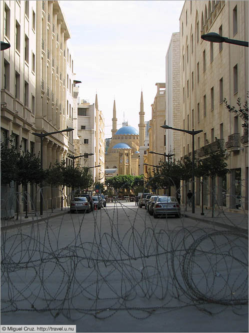 Lebanon: Beirut: Welcome to downtown Beirut