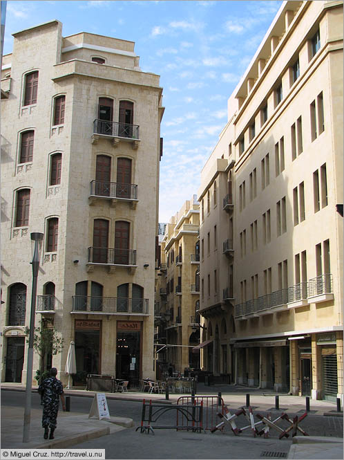 Lebanon: Beirut: All quiet in the city center