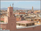 Rooftops and Atlas Mountains