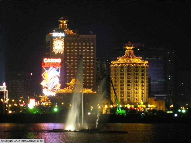 Casino district macau