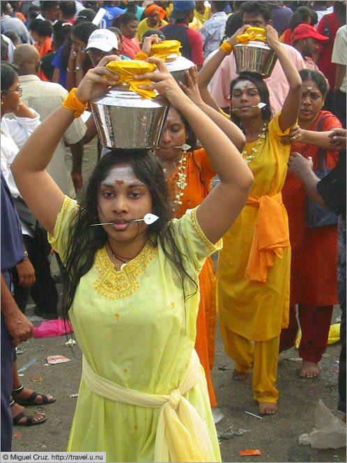 Malaysia: Thaipusam in KL: Starting the journey