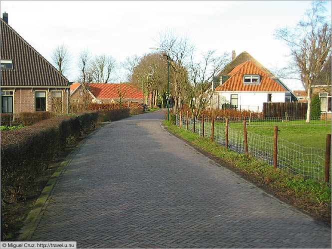 Netherlands: North Holland: Country road