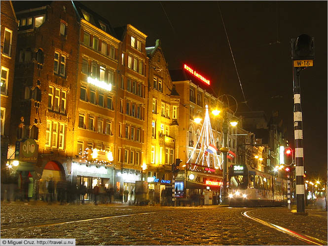 Netherlands: Amsterdam: North from Dam Square