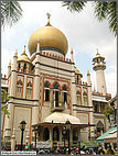 Sultan Mosque at Arab Street
