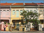 Colorful houses in Geylang