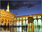 Dusk at Omayyad Mosque