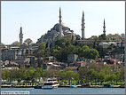 Sulemaniye Mosque looming over the city