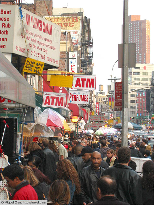 United States: New York City: Canal Street, Chinatown