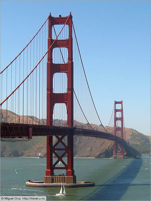 United States: San Francisco: Marin County across the Golden Gate