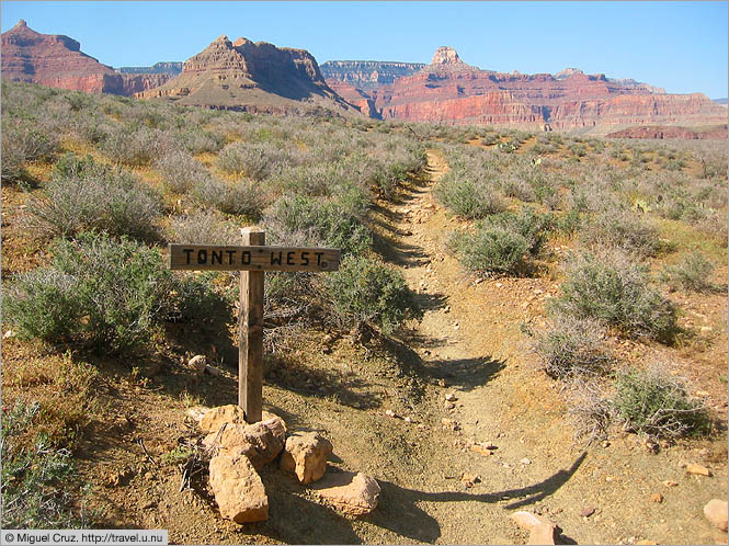 United States: Arizona: Tonto trail west